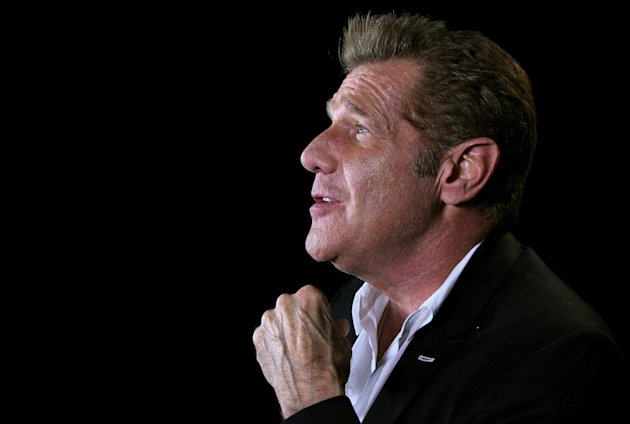 In this May 7, 2012 photo, musician Glenn Frey is shown in New York. On his latest solo record &quot;After Hours,&quot; Frey covers artist like Tony Bennett, Nat King Cole, and the Beach Boys. (AP Photo/John Carucci)