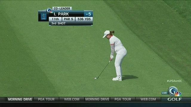Inbee Park leads by a stroke at Kraft Nabisco Championship