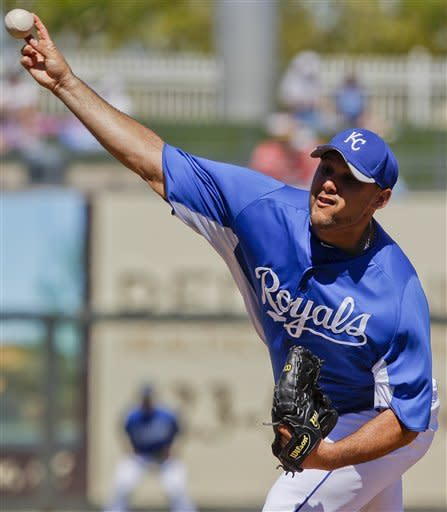 Wilson throws 5 shutout innings, but KC gets win