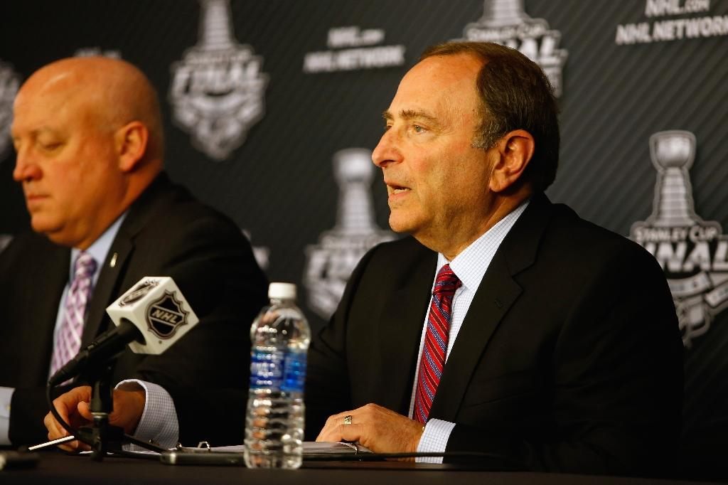 Commissioner says money key to NHL Olympic participation