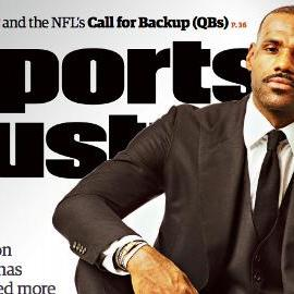 LeBron James lands SI cover