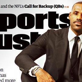 LeBron James lands SI cover