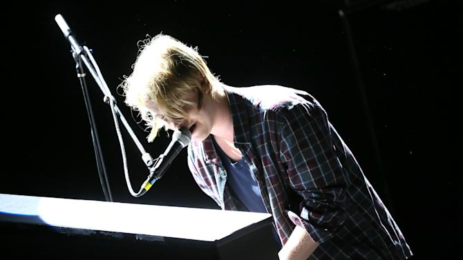 Tom Odell performs  at The Troubadour on May 7, 2013 in Los Angeles. (Photo by Alexandra Wyman/Invision/AP Images)