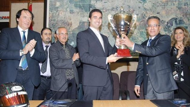 BENNANI RECEIVES AWARD IN RABAT