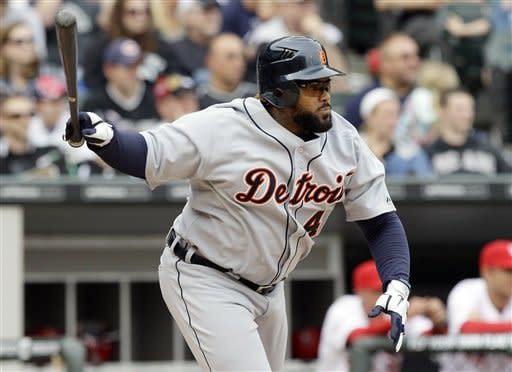 Laird homers, leads Tigers over White Sox 5-2