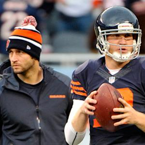 Should Jay Cutler or Josh McCown be the starting quarterback for the Chicago Bears?