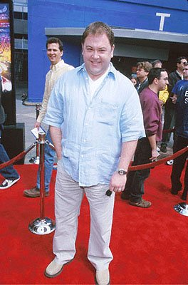 Premiere: Mark Addy keeps The Full Monty in check at the Universal Studios Cinema premiere of Universal's The Flintstones In Viva Rock Vegas in Los Angeles - 4/15/2000