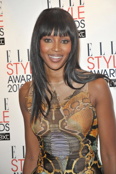 Naomi Campbell Elle Awards