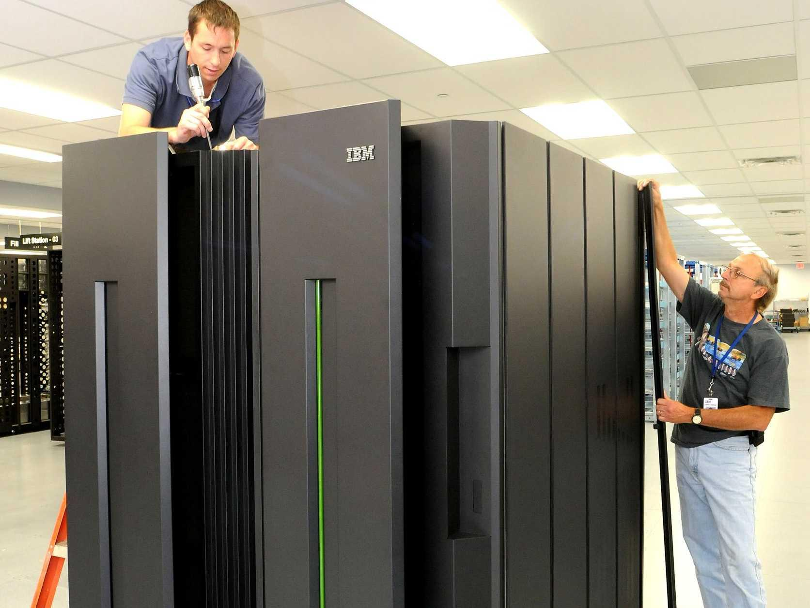 IBM was saved this quarter by one of its oldest product lines: the mainframe