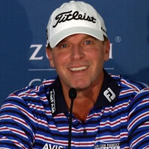 Steve Stricker comments before the Zurich Classic