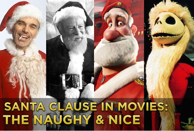 Naughty and Nice Santas