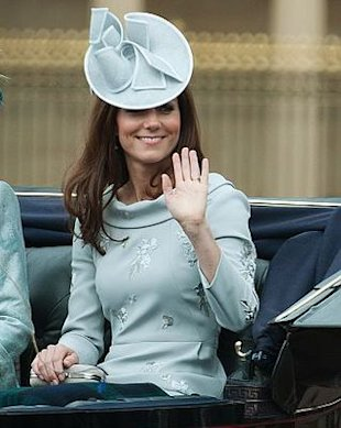 Kate Middleton in Erdem