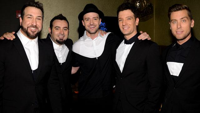 *NSYNC Members Playfully Say 'Bye Bye Bye' to U.S. Sales Record as Adele Says 'Hello'