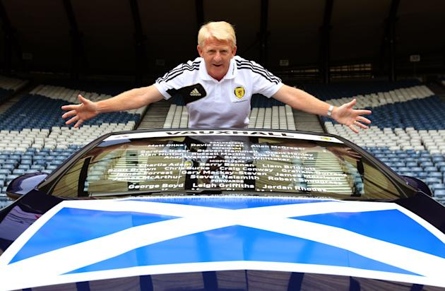 Soccer - Scotland Team Announcement - Hampden Park