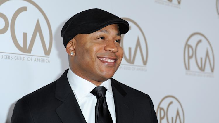 IMAGE DISTRIBUTED FOR THE PRODUCERS GUILD - LL Cool J arrives at the 24th Annual Producers Guild (PGA) Awards at the Beverly Hilton Hotel on Saturday Jan. 26, 2013, in Beverly Hills, Calif. (Photo by Jordan Strauss/Invision for The Producers Guild/AP Images)