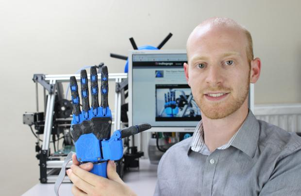How 3D printing could make robotic hands more affordable