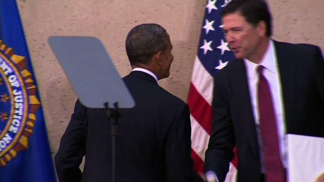 """Obama: FBI Director Comey """"knows what's right and what's wrong"""""""