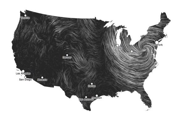 Satellites Show Sandy Clobbering East Coast