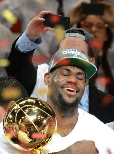 LeBron James finally captured his first NBA championship