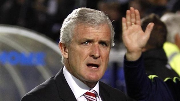 Mark Hughes hailed a professional Stoke performance