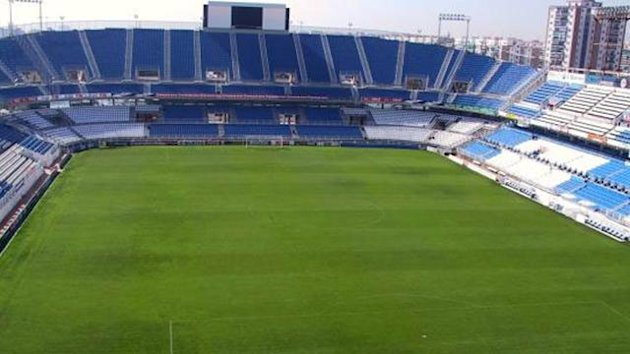 FOOTBALL La Liga stadium La Rosaleda, home of Malaga