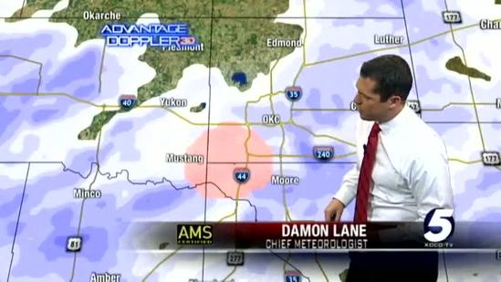 10:30 a.m. Oklahoma winter weather update