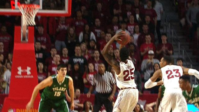 DeCosey scores 17 points in win over Tulane