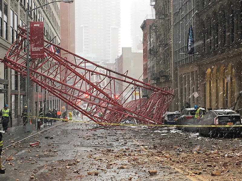 Deadly Crane Collapse in New York City Kills at Least 1