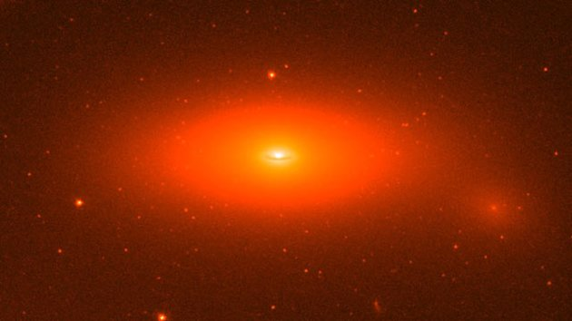 Super-Giant Black Hole Baffles Scientists (ABC News)