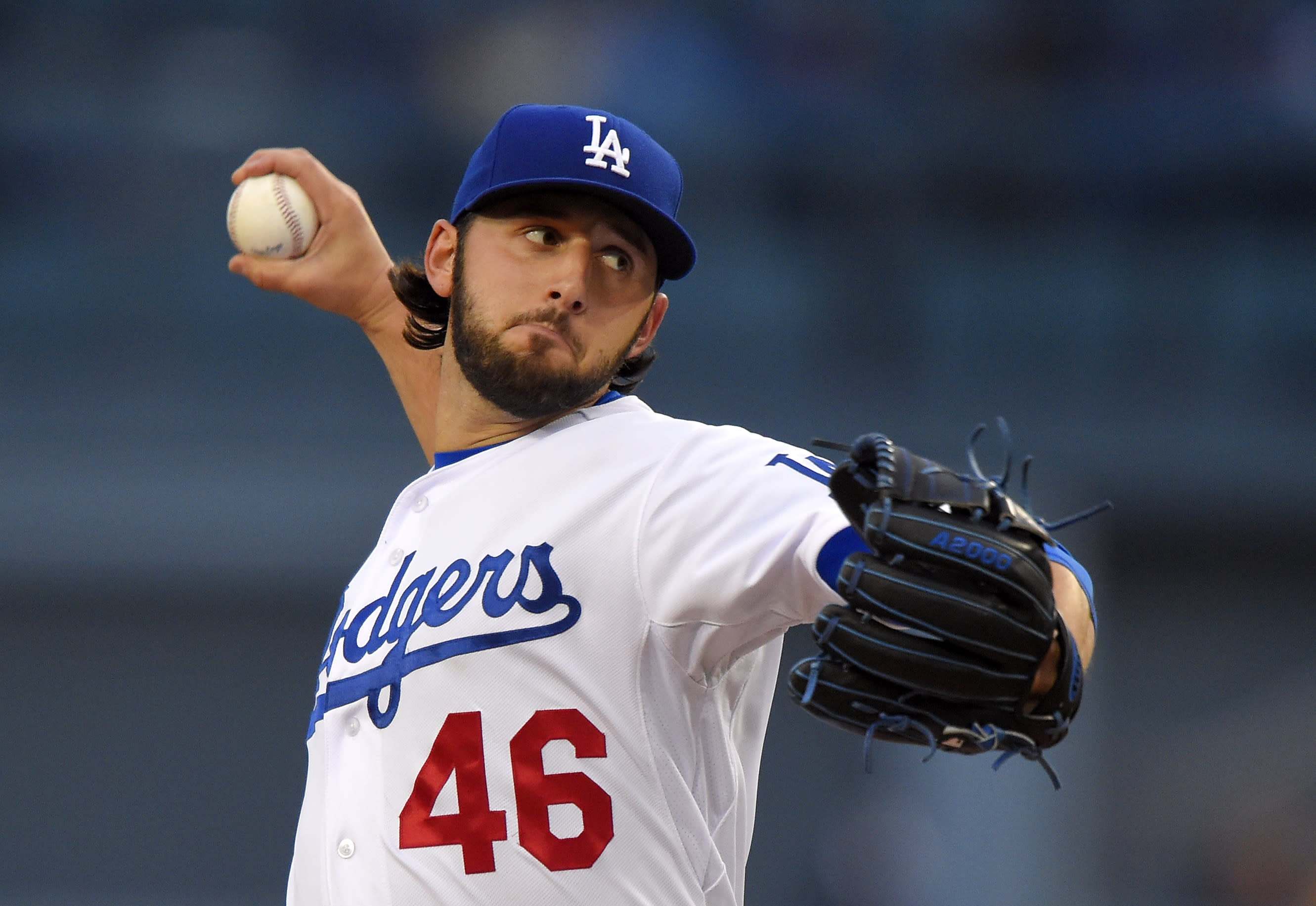 Bolsinger shuts down Padres, Pederson hits HR as Dodgers win