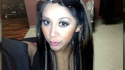 Snooki in Labor