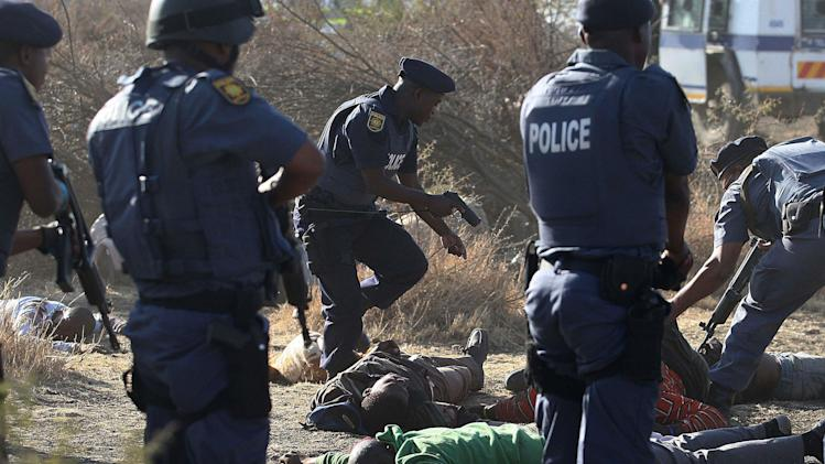 South African commission accuses police of lying