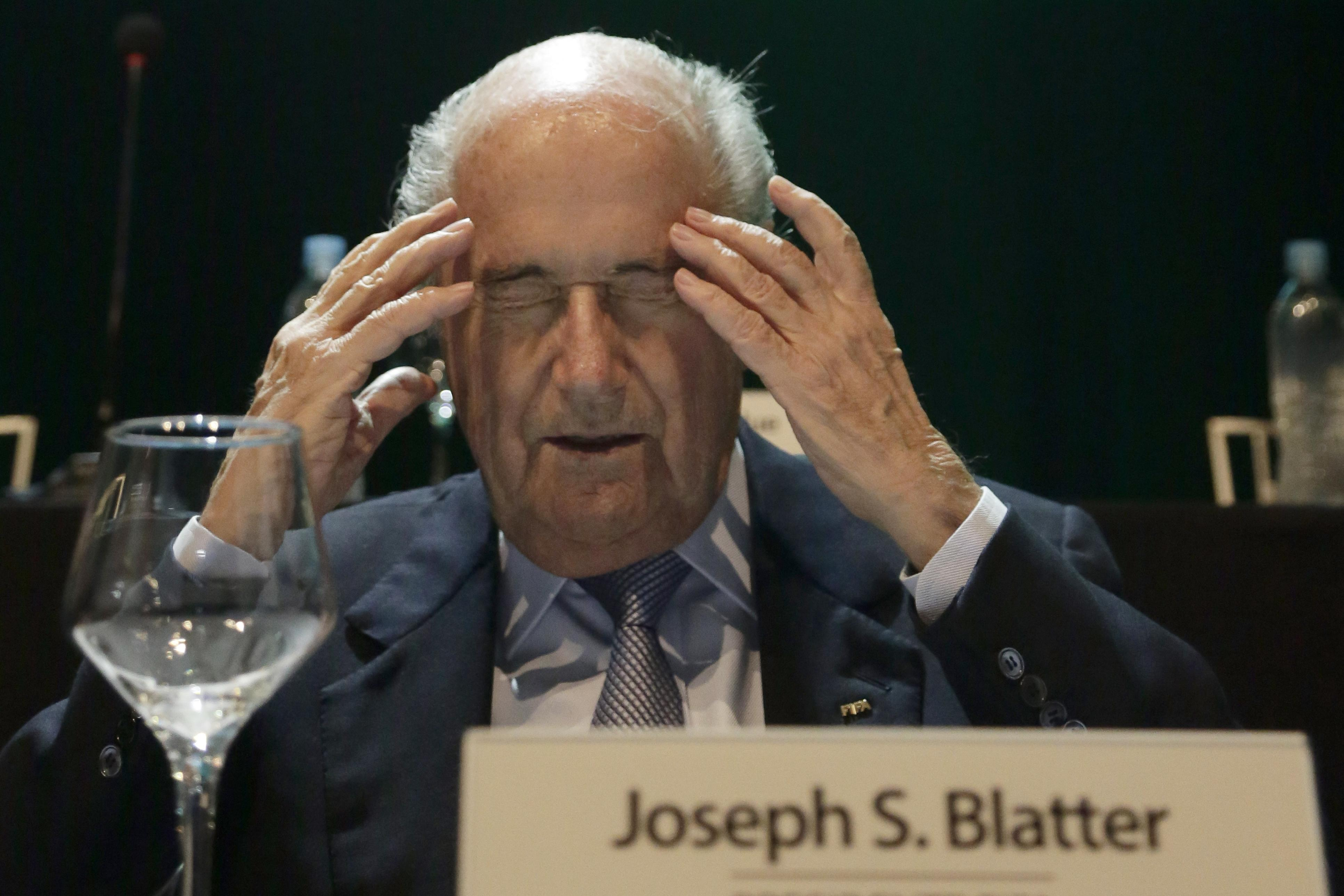 Blatter: Sanctions against racism need to be stiffer