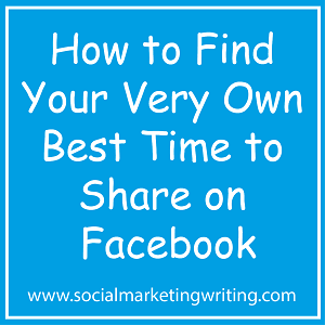 How to Find Your Very Own Best Time to Share on Facebook