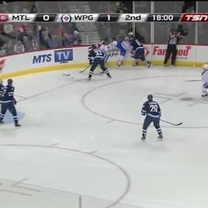Ondrej Pavelec Save on Devante Smith-Pelly (01:49/2nd)