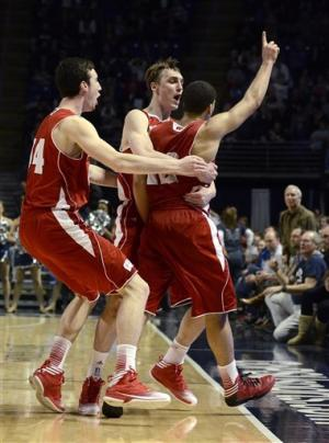 No. 22 Wisconsin holds off Penn State 63-60
