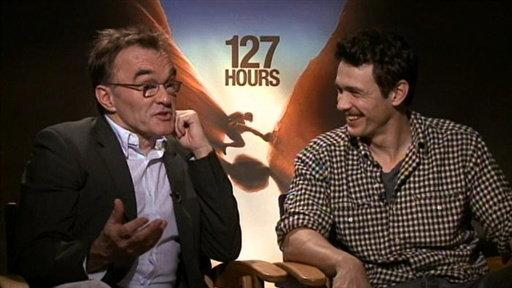 127 Hours: James Franco & Danny Boyle