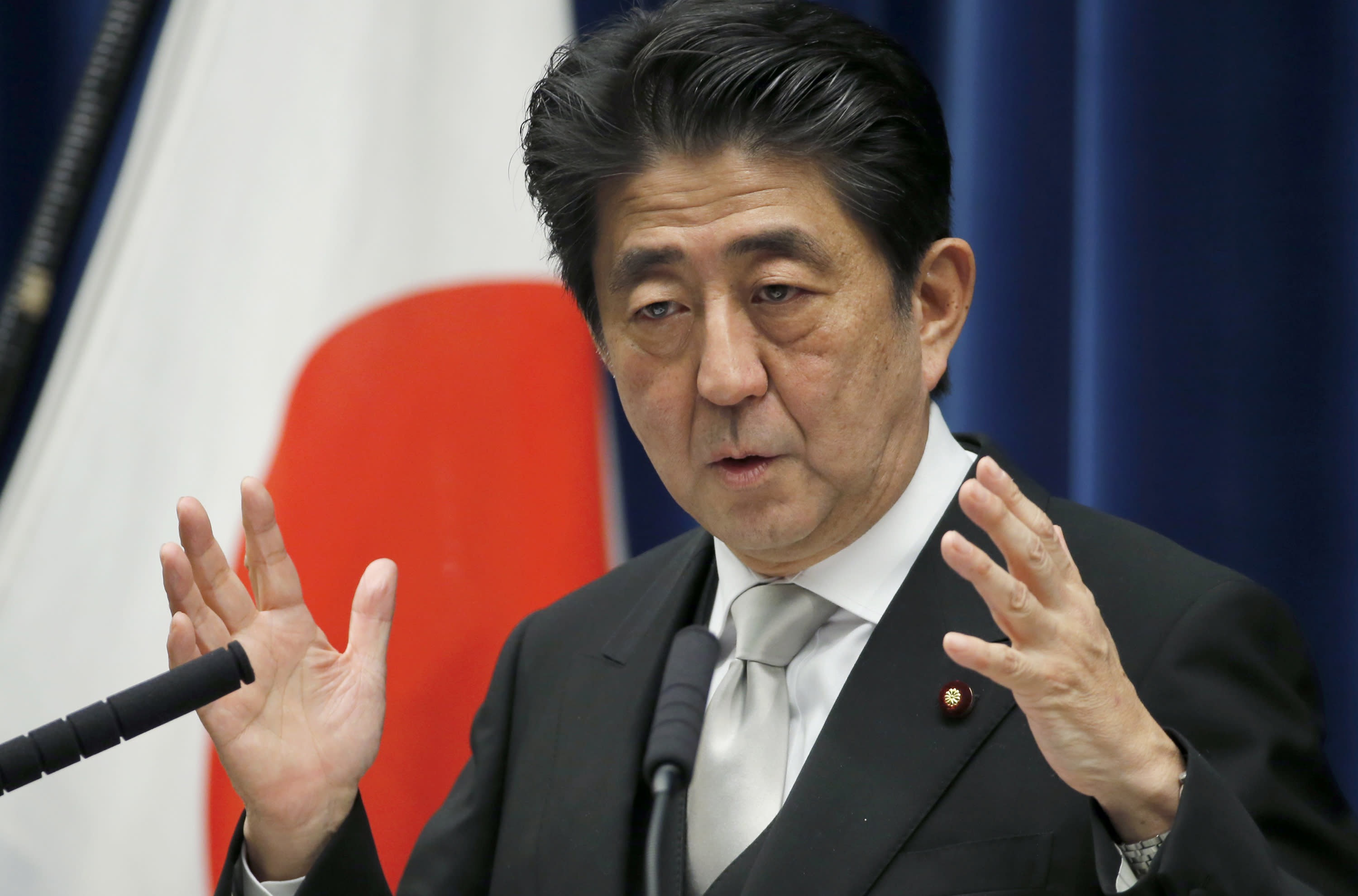 Abe takes office for 3rd term as Japan's leader