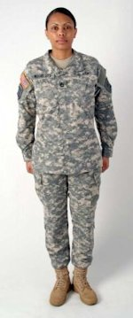 The new and improved army uniform designed for women. Photo courtesy of Army Times.