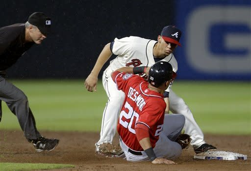 Minor, Braves complete sweep of Nats with 5-1 win