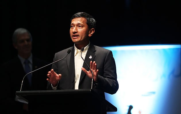 Minister for the Environment and Water Resources, Vivian Balakrishnan, reaffirmed Lee Kuan Yew's vision for Singapore to be one of the world's cleanest and greenest cities. (Getty Images)