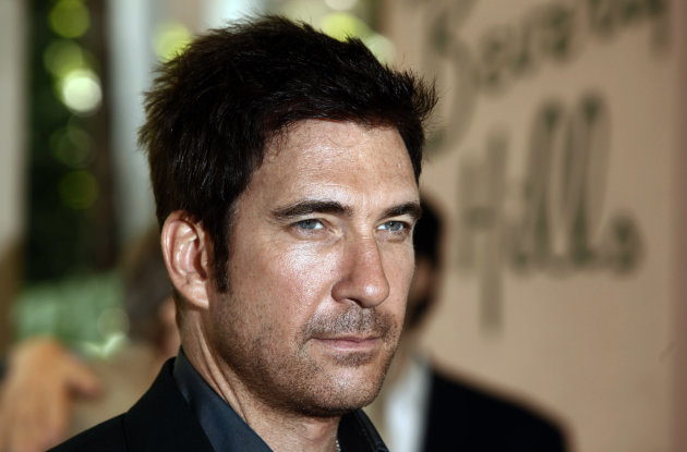 FILE - In this Aug. 11, 2009 file photo, actor Dylan McDermott arrives at the Hollywood Foreign Press Annual Installation luncheon in Beverly Hills, Calif. A reopened police investigation in Connectic