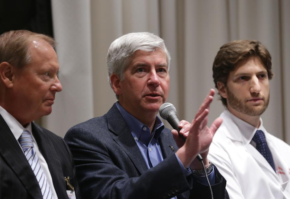 Gov. Snyder pushes Medicaid expansion message
