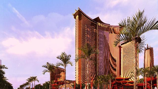 An artists rendering provided by Steelman Partners shows plans for the development of a new hotel and casino complex on the site of the stalled Echelon project in Las Vegas. The Genting Group announced the purchase of the nearly 90 acres on the Las Vegas Strip of the Boyd Gaming Corp.'s stalled project. The Asian conglomerate has plans for a phased, multi-billion dollar development that would include 3,500 hotel rooms, a convention center and gambling, dining and retail. (AP Photo/The Rogich Communications Group)