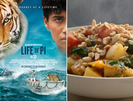 Life of Pi: A Simple Vegetarian Curry