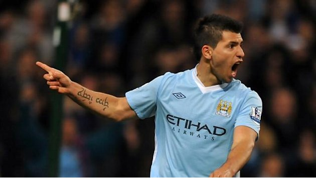 Aguero boost for City