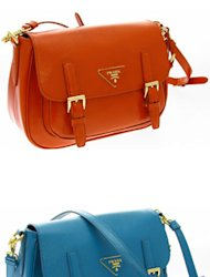 We NEED a Prada mini satchel. They're just so chic!