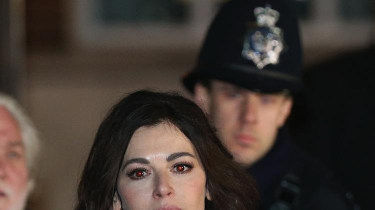 Nigella Lawson Gives Evidence In The Trial Of Her Two Assistants