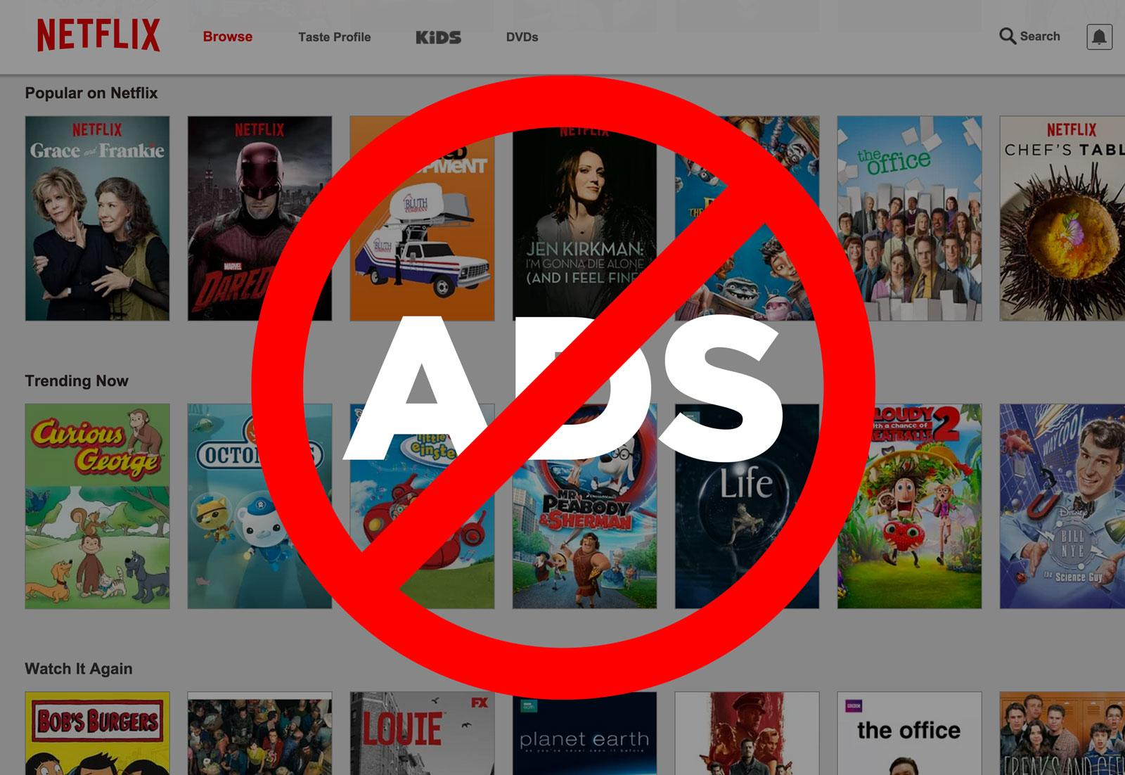Netflix Tests Teasers For Original Programming, But Has No Plans To Run Third-Party Ads