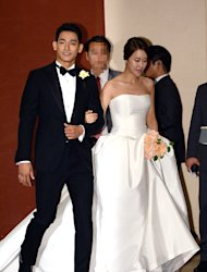 Jung Suk Won and Baek Ji Young